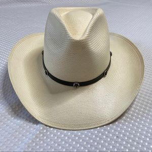 Stetson 8X Long Oval Straw Hat
